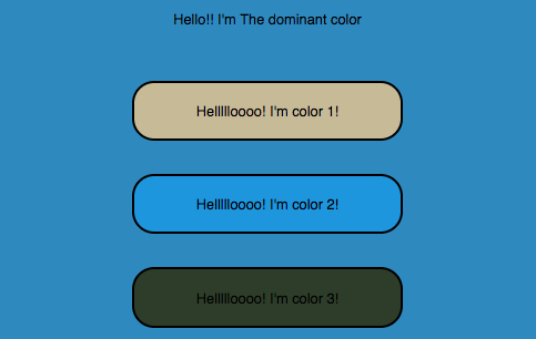 A sample landscape used by the Chameleon color API